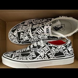 Van shoes #black&white